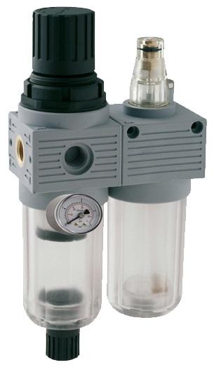 filtro regulador lubricador frontal Sumifluid