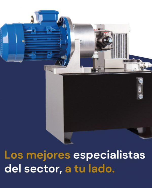 especialistas en hidráulica y neumática sectores banner móvil Sumifluid Elche