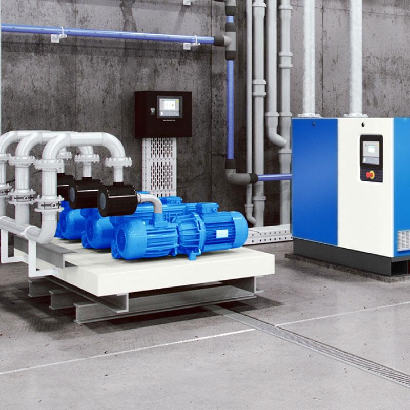 Sistema vacío Sumifluid tratamiento de aire
