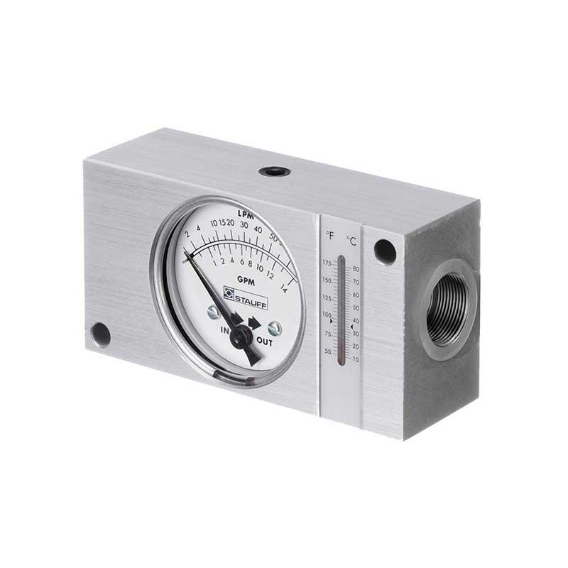 Caudalímetro con temperatura Sumifluid