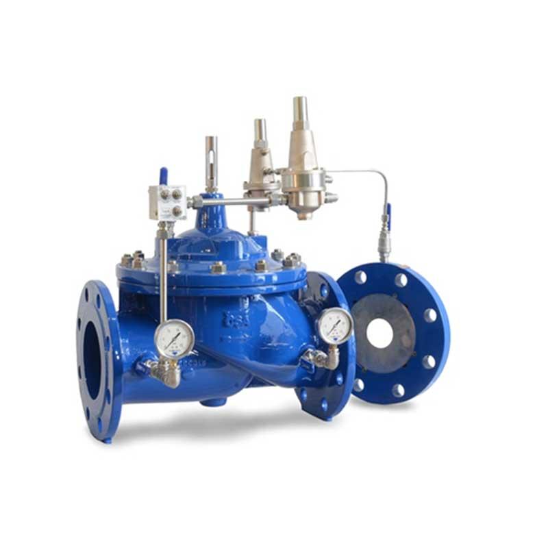 Limitadora de presión hidráulica Sumifuid