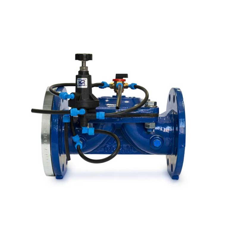 Limitadora de presión con tuberías Sumifluid